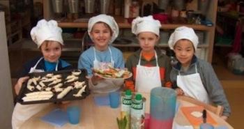 Uitje Creatief - Kinderkookkafe - Foto