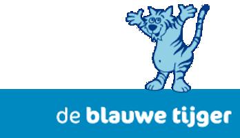 creche - skon de blauwe tijger - logo