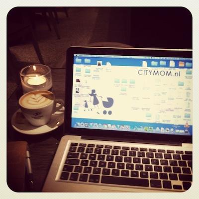 Even rustig werken in Sreaming Beans op de Eerste Constantijn Huygensstraat. Heerlijke koffie en al mijn zakelijke afspraken doe ik hier.
