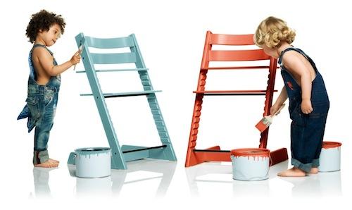 tripp trapp goes 70 39 s met deze knal kleuren. Black Bedroom Furniture Sets. Home Design Ideas